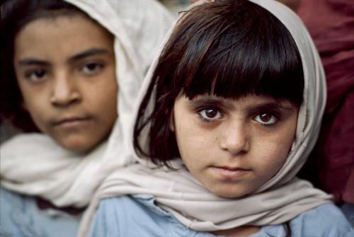 pakizah:  Pakistan/Afghanistan Border 1984 Steve McCurry
