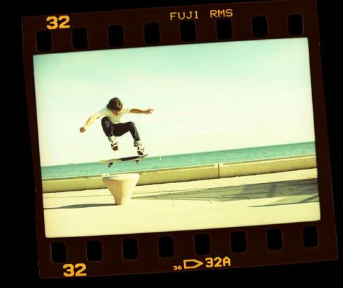 i miss skateboarding. this is tom skateboarding joseph buchan