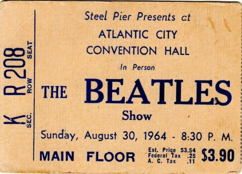 kissify:  I would give anything to see the Beatles play.