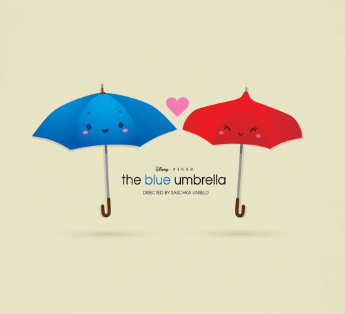 The Blue Umbrella (by Jerrod Maruyama)