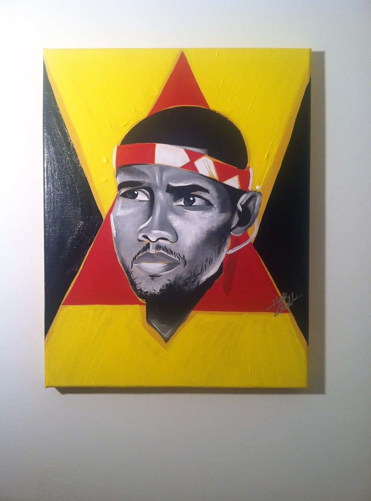 latest artwork - Frank Ocean  /  acrylic x canvas   PRINTS ALSO AVAILABLE http://addart.bigcartel.com/product/frank-ocean-pyramids-painting