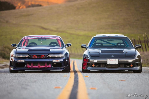 zacmcblack:  His/Hers Nismo set up