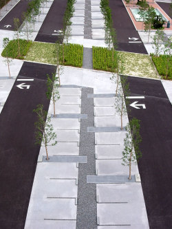 catastrophe-urben:  conceptlandscape:  Landscape Architecture: PLATdesign  now THIS is a parking lot!!