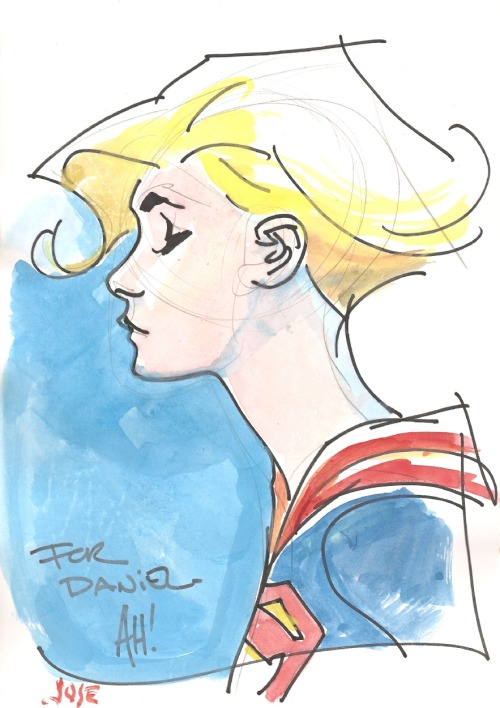 Supergirl by Adam Hughes