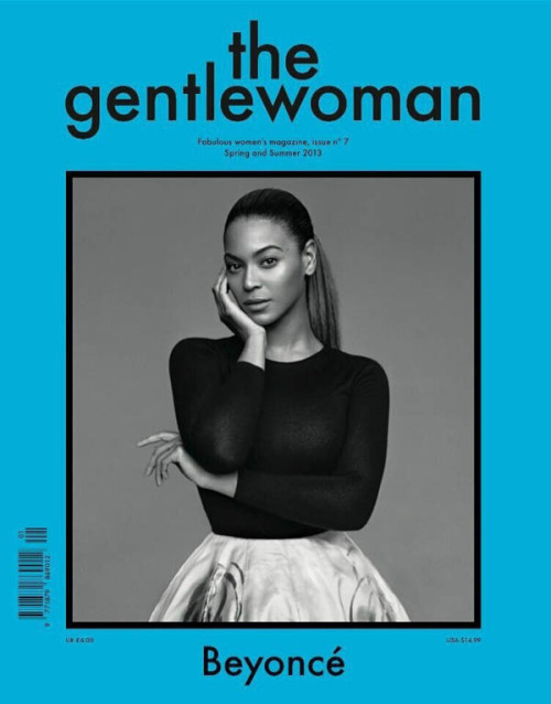 Beyonce on the cover of The Gentlewoman