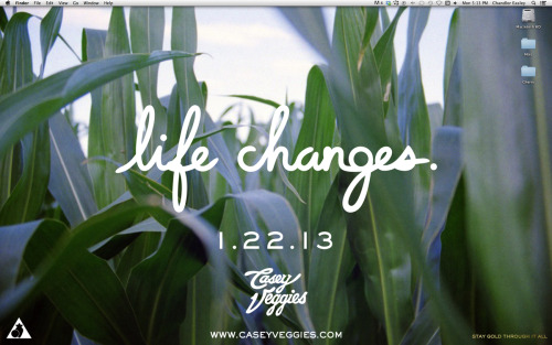 "cherrycollaborative:  Casey Veggies ""Life changes"" desktop background… Get it HERE Or the alternate white version HERE Casey Veggies ""Life Changes"" releases 1.22.13 @ www.CaseyVeggies.com"