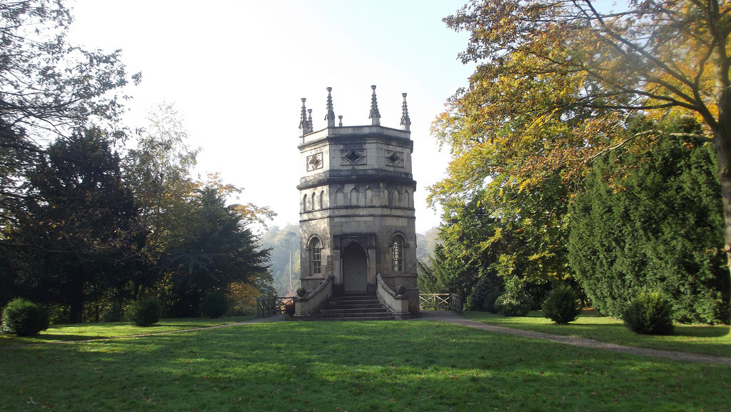 wanderthewood:  The Octagonal Tower at Studley Royal and Fountains Abbey near Ripon, North Yorkshire, England by SaffyH