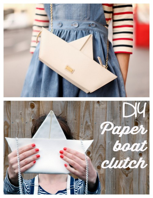 truebluemeandyou:  DIY Knockoff Moschino Cheap & Chic Boat Trip Bag Tutorial from Clones N Clowns here. Really good tutorial and you don't need a sewing machine (although I would probably top stitch the leather with my sewing machine). Top Photo: The Cherry Blossom Girl here holding a $688 Moschino Cheap & Chic Boat Trip Bag found here. For more DIY knockoffs go here: truebluemeandyou.tumblr.com/tagged/knockoff
