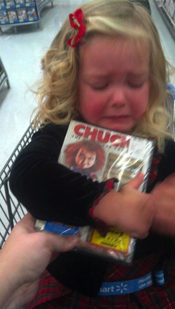 "reasonsmysoniscrying:  ""I wouldn't buy her the ""dolly"" movie for Christmas.""Submitted By:  Dede B.Location: Washington, United States"