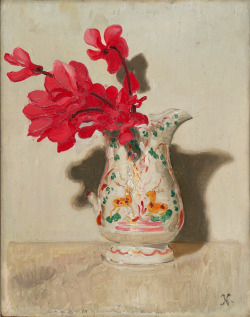 Sir William Nicholson, Cyclamen, 1937  British, (1872-1949)