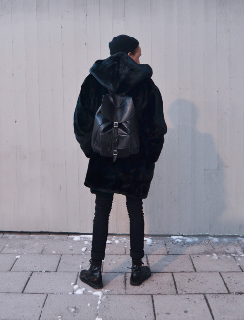 Love this coat and rucksack!