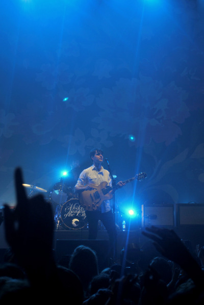 Ezra Koenig (and Chris Tomson) at The Troxy 2nd May 2013