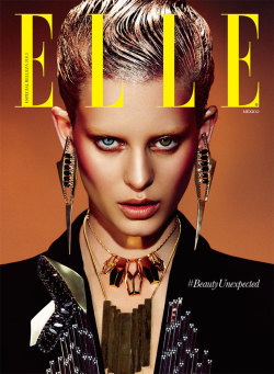stormtrooperfashion:  Ellinore Erichsen by Takahiro Ogawa for ELLE Mexico, May 2013