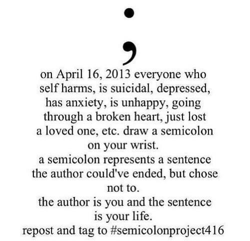 findingwordstoliveby:  Let's get this around Tumblr guys! Reblog please! Help send a message of hope and love to all those who suffer from self harm, suicide ideation, depression, eating disorders, mental disorders, etc.