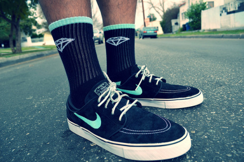 Nike SB Janoski X Diamond Supply on Flickr.WDYWT Nike SB Janoski X Diamond Supply Co.