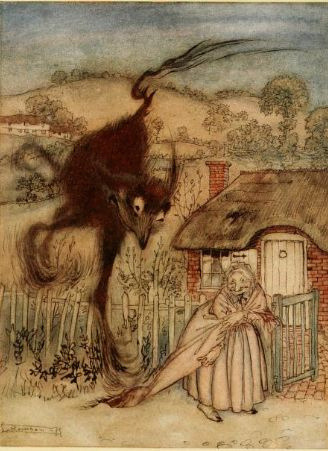 Arthur Rackham English Fairy tales by emmeffe6 on Flickr.