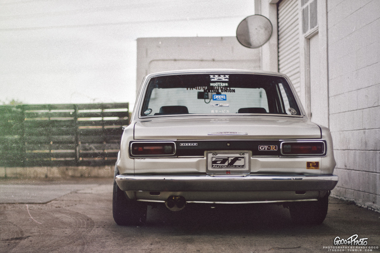 itsgoco:  Skyline Mike's Hakosuka. Feature also up on Stancenation as well!! http://www.stancenation.com/2013/05/19/classic-beauty-skyline-mikes-hakosuka/ Taken by me.