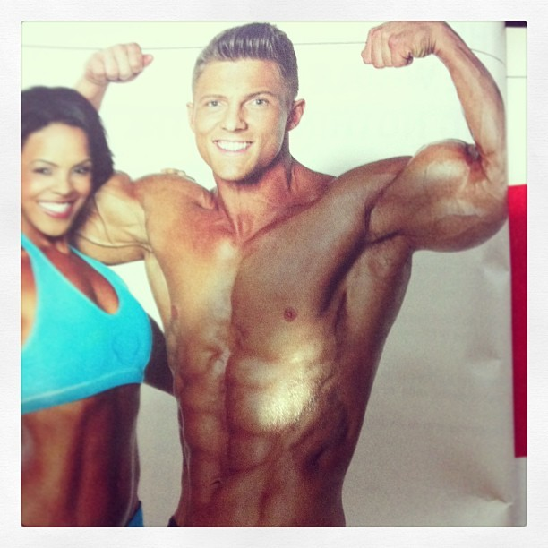 Steve Cook is a #Greekgod #MusclePerformace #Fitness #Sex.