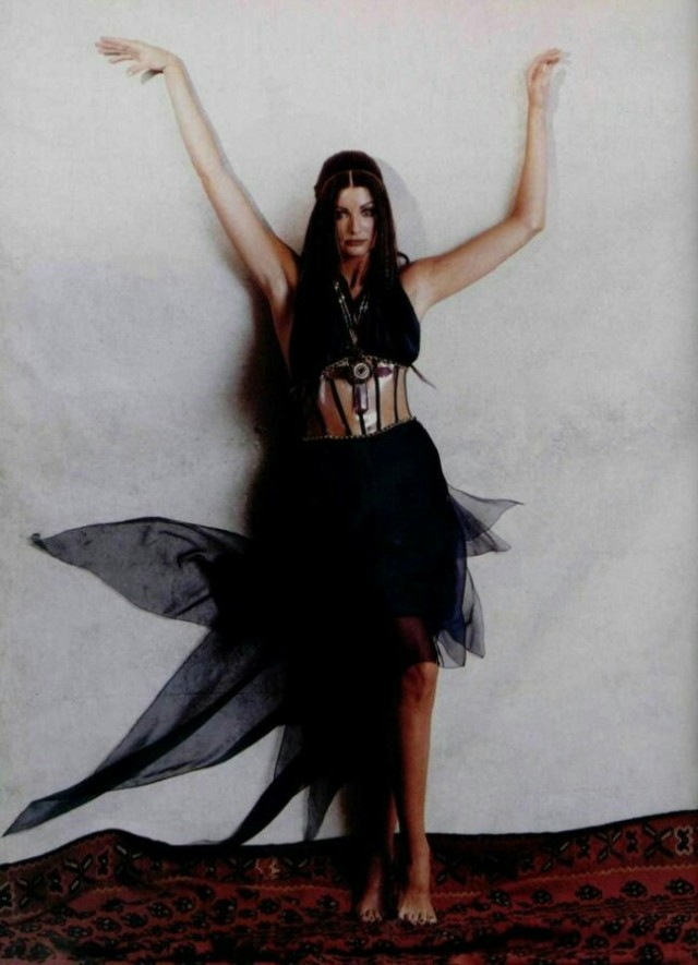 Hiromasa - Jane Powers Wearing a Chanel Dress (LOfficiel 1993) #hiromasa#jane powers#lofficiel magazine#photography#fashion photography#vintage fashion#vintage style#vintage#retro#aesthetic#beauty#90s#90s fashion#90s aesthetic#1990s#1990s fashion#90s model#editorial#chanel#lofficiel