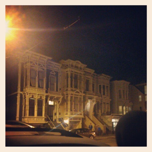 Houses in lower haight