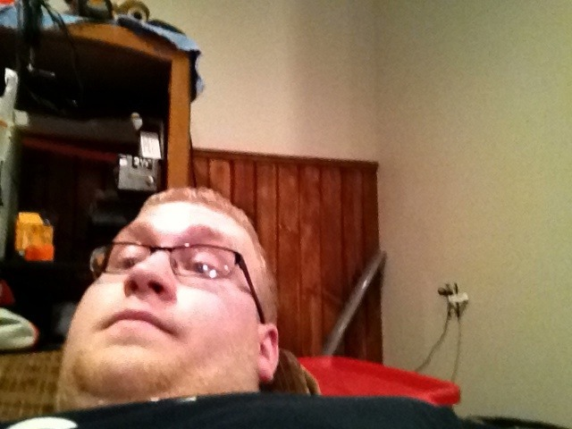 Laying on the couch with my ipad. Doesn't get better than this.