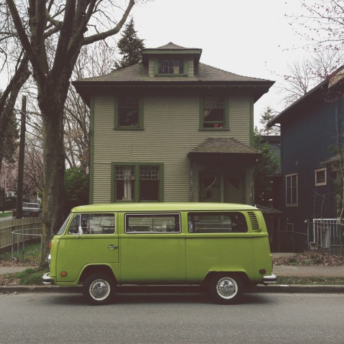 van-life:  Model: VW T2 Location: Vancouver, BC (2013) Photo: Emanuel Smedbøl