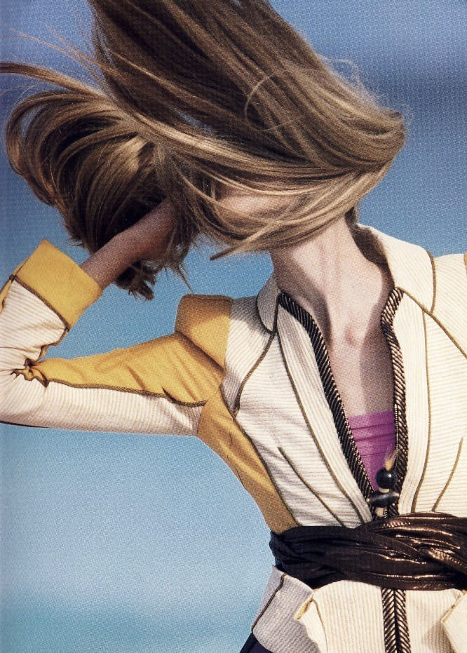 "ampersand-et:  tanya dziahileva in ""solo dance"" by hans feurer for numéro tokyo july/august 2009."