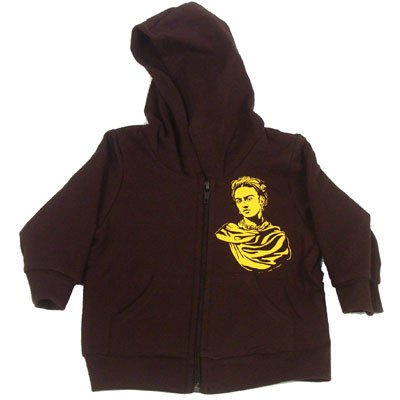 Frida Kahlo Hoodie fridakahlorocks:  available at Baby Wit