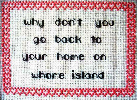 nevver:  Needlepoint  i really want to make this