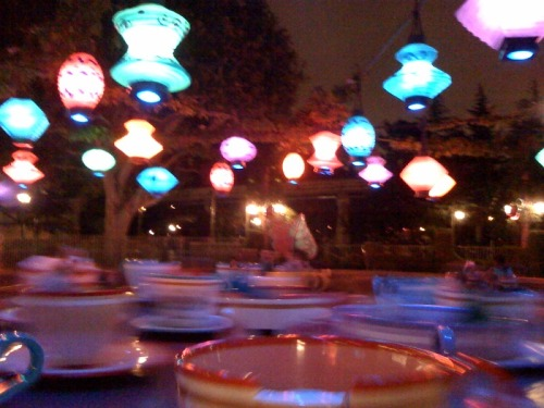 Tea cups, 11:50 pm