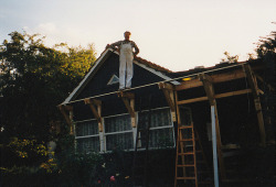 parishlantern:  my grandad designed and built his house himself! what a hero. by anne mumford on Flickr.