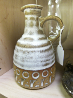 In Shop: Studio Pottery Jug by St Keyne, Liskeard £12