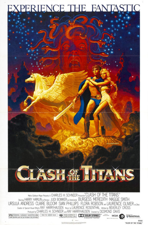 One-sheet for the original Clash of the Titans (1981).
