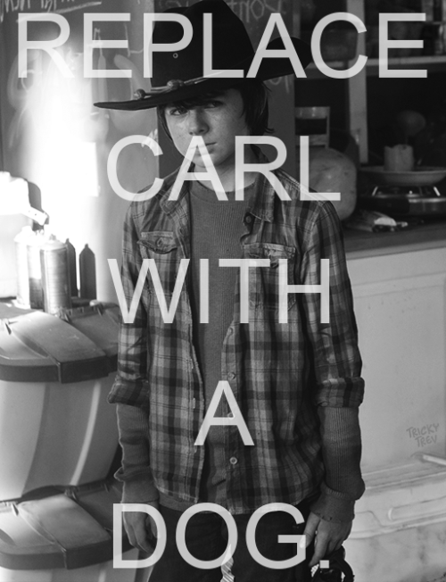 You can just consider this an extension of my previous Carl Grimes poster.
