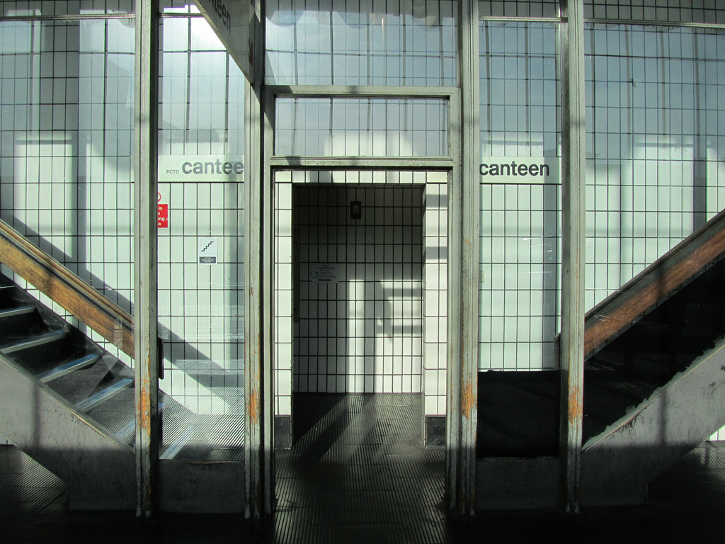 Staff entrance, Preston Bus Station