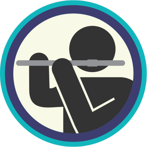 lifescouts:  Lifescouts: Flute Badge If you have this badge, reblog it and share your story! Look through the notes to read other people's stories. Click here to buy this badge physically (ships worldwide). Lifescouts is a badge-collecting community of people who share their real-world experiences.  wow i played flute for like almost 6 years of my life and i was awful??!??!