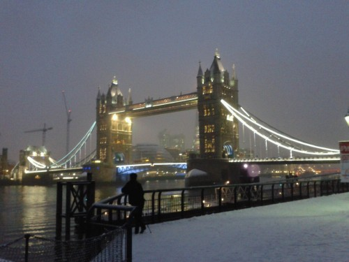 Magic Snowy London