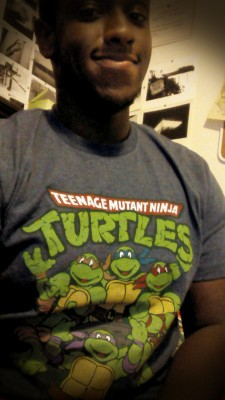 Can't live without my Ninja Turtles.