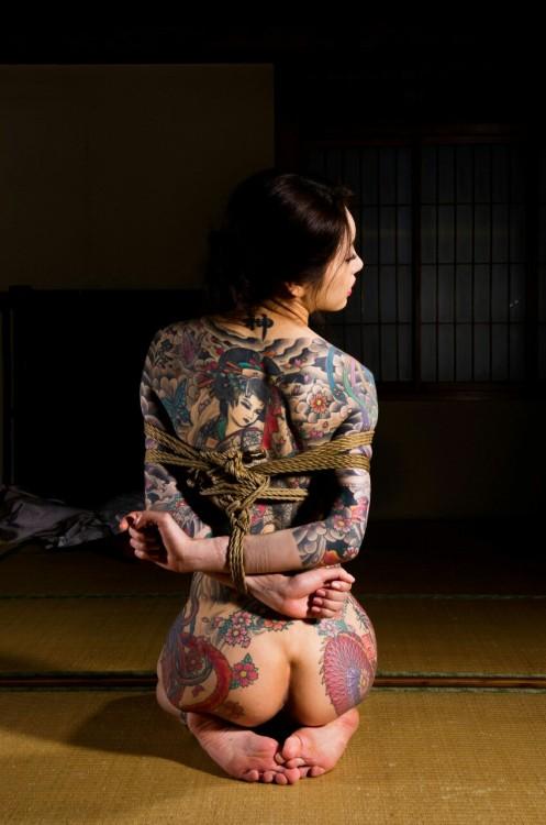 Full Tattoo Damsel in distress &#8230..