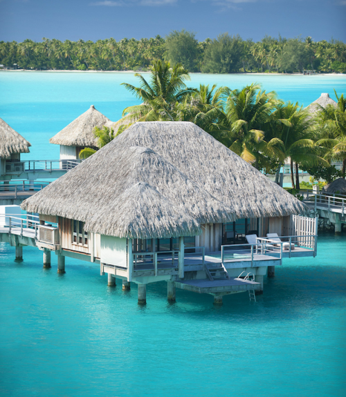 Over the Water Bungalow, Bora Bora photo via besttravelphotos