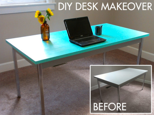 Thanks, I Made It Myself: The Ugly Desk Makeover