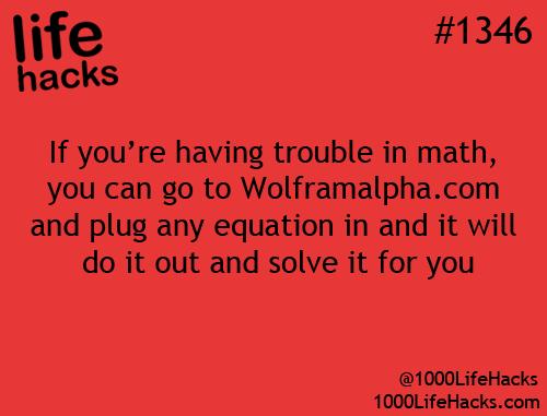life school technology math website life hacks life hack