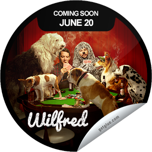 I just unlocked the Wilfred Season 3 Coming Soon sticker on GetGlue                      1561 others have also unlocked the Wilfred Season 3 Coming Soon sticker on GetGlue.com                  No bluffin' here, Wilfred is back June 20th.  Share this one proudly. It's from our friends at FX.