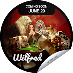 I just unlocked the Wilfred Season 3 Coming Soon sticker on GetGlue                      1619 others have also unlocked the Wilfred Season 3 Coming Soon sticker on GetGlue.com                  No bluffin' here, Wilfred is back June 20th.  Share this one proudly. It's from our friends at FX.