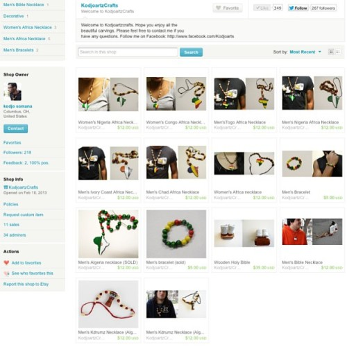 They're all up!!!   Carved wood, bracelets, necklace, earrings and more at»> http://www.etsy.com/shop/KodjoartzCrafts #africansonfire #africansfinest #gh_hotpics #iheartafricans #africans_ontop #africans_allstar #africasfinest1 #africanfashionway #africans_killingit #africansunited_ #diamondsofafrica #insta_afrika #finestafricans_ #TagsForLikes  #tweegram #photooftheday #me #instamood #fashion #summer #tbt #igers #picoftheday  #instadaily #instagramhub #beautiful #girl #instagood #bestoftheday   #art