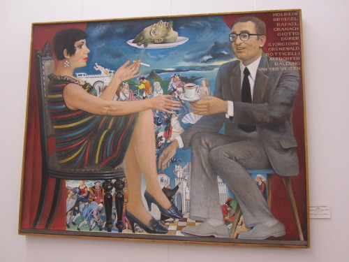 art in Soviet times, 2 paintings by Valentina Rusu Ciobanu National Art Museum of Moldova