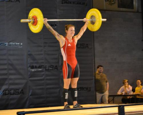 inpursuitofnormal:  Christmas Abbott snatchin'. Just like we all will be for the first open WOD.