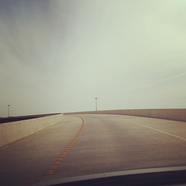 #texas #highways #america #space #open #sky