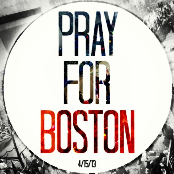 #PrayForBoston May peace and harmony reach those who were affected by the tragedy that occurred today in Boston.