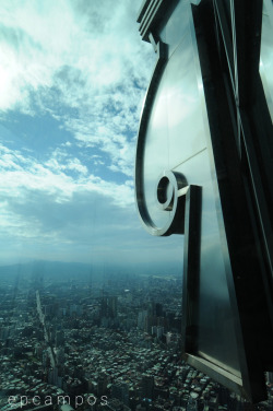 Sky Scraping (view from Taipei 101) submitted by: ikeymikey, thanks!
